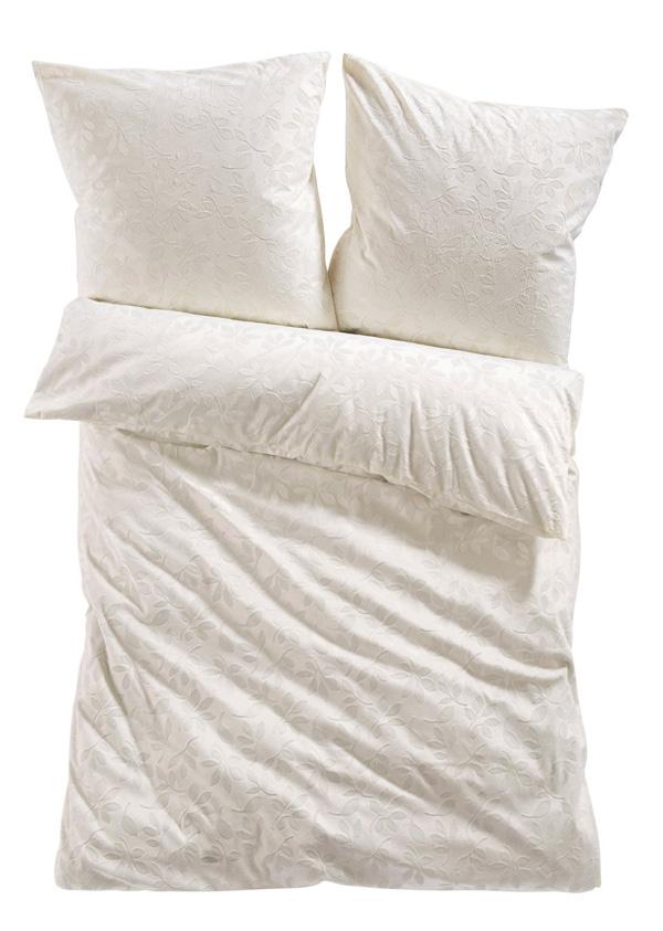 c66 fleece bettw sche blatt 2 tlg creme ebay. Black Bedroom Furniture Sets. Home Design Ideas